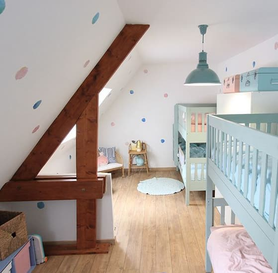 chambre mixte pour 2 enfants